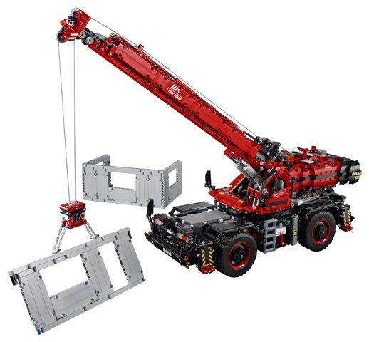 Kleurplaten Van Lego Technic.Lego Technic Rough Terrain Crane Lego 42082 5702016116960