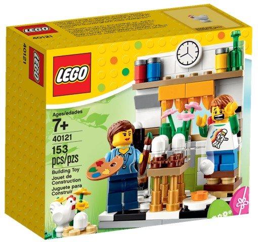 Lego Painting Easter Eggs Lego 40121 5702015355452 Brickshop