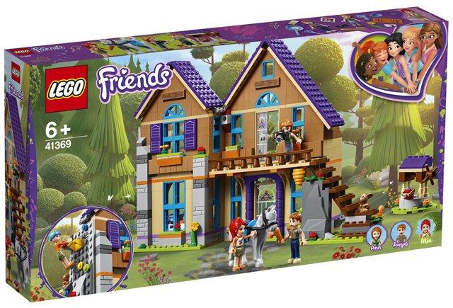 Lego Friends Mias House Lego 41369 5702016369441 Brickshop