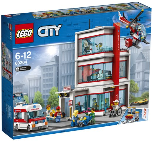 Lego City Hospital Lego 60204 5702016108965 Brickshop Holland