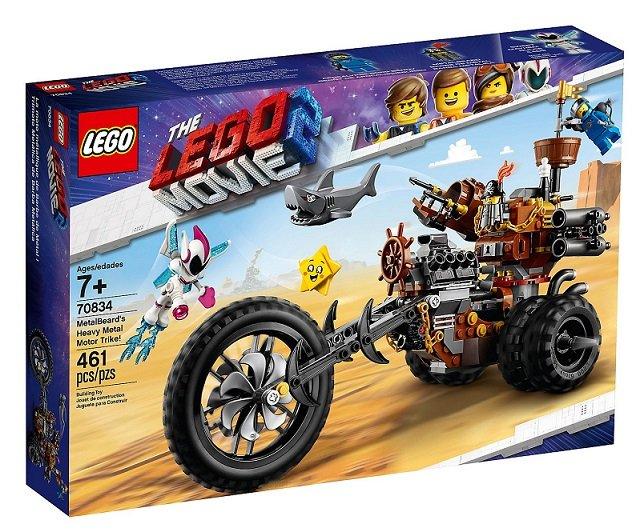 Lego The Lego Movie 2 Metalbeards Heavy Metal Motor Trike Lego