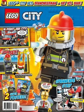 Lego City Magazine 2019 2 8710823004698 Brickshop Holland Bv