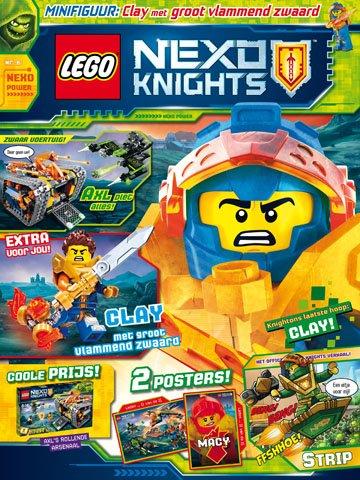 Kleurplaten Lego Hobbit.Lego Nexo Knights Magazine 2018 6 8710823004704 Lego Books