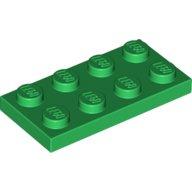 LEGO Sand Blue Brick 2x4 10 Pieces