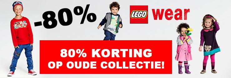 LEGOwear met 80% korting!