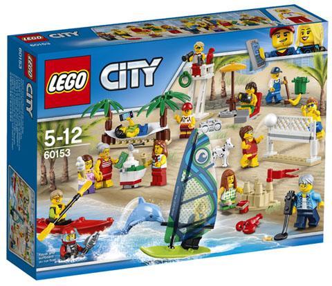 LEGO 60153 Personenset - Plezier aan het Strand